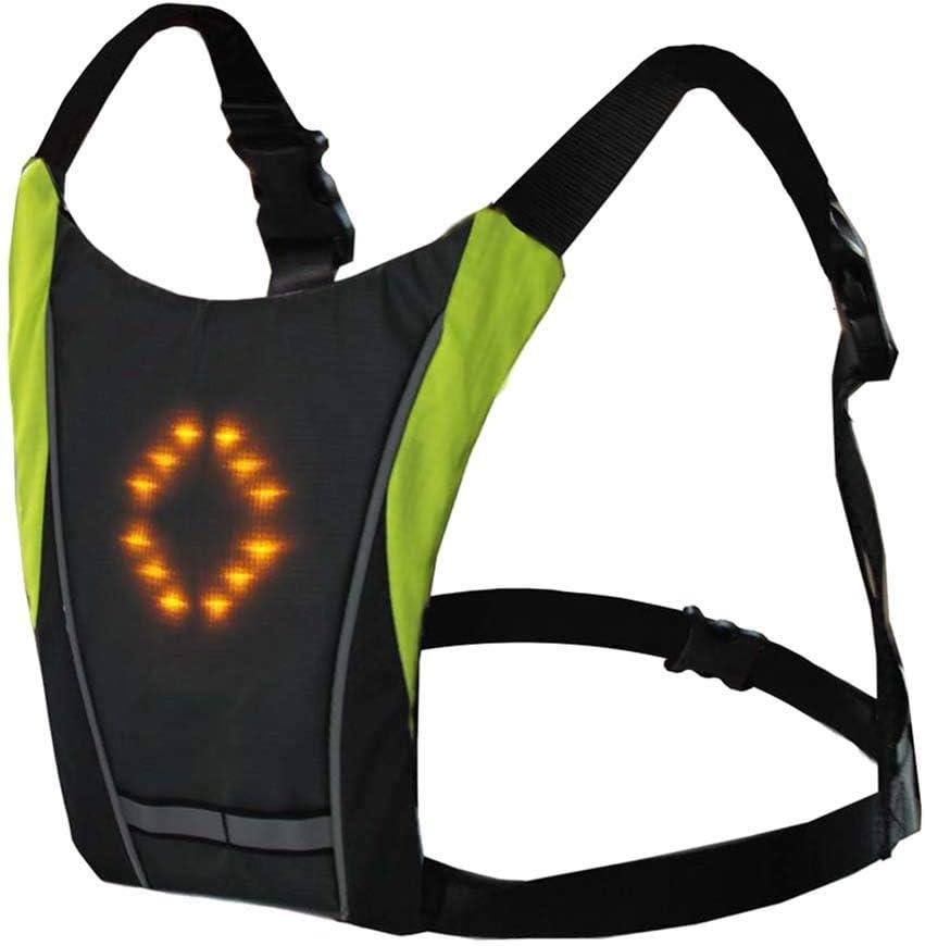 LED Warning Light Safety Cycling Walking Jogging Camping Keyring Bag 4 Colours