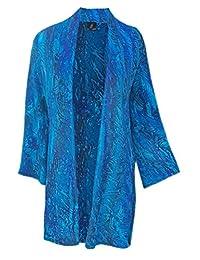 Long Sleeve Cardigan   Oversized Cardigan Kimono for Women, One PLUS Size 1x-3x