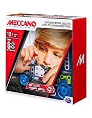 Meccano 6047095 Set 1, Quick, S.T.E.A.M. Building Kit with Real Tools, for Ages 8 and Up, Multicolored