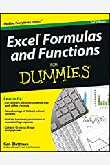 Excel Formulas and Functions For Dummies Paperback