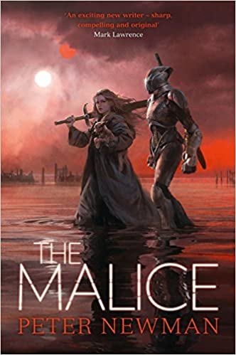The Malice The Vagrant Trilogy Peter Newman 9780008201036