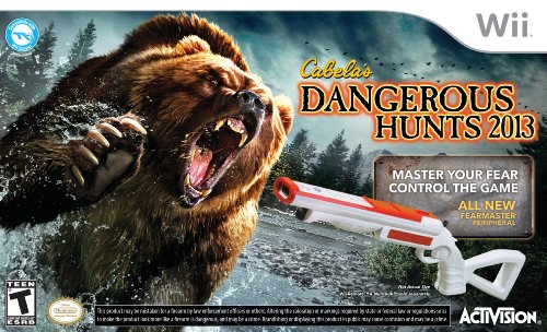 - Cabela's Dangerous Hunts 2013 with Gun - Nintendo Wii