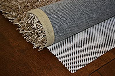 Amzoners Heavier, Thicker and Washable Non-Slip Area Rug Pad. Safe for all floor types