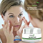 Anti Aging Cream by Pureauty Naturals – Retinol & Hyaluronic Acid Powered Moisturizer to Help Reduce Wrinkles and Tighten & Hydrate Your Skin | For Face and Neck