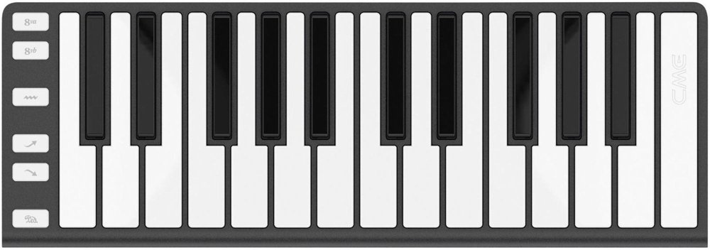 CME 25 Key Mobile Keyboard Controller Dark Gray