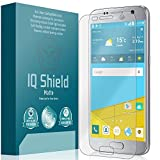 IQ Shield Matte Screen Protector Compatible with Samsung Galaxy S7 Anti-Glare Anti-Bubble Film