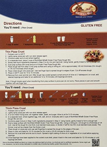 NORTHFIELD MILLS Gluten Free Pizza Dough Mix, 24 Ounce