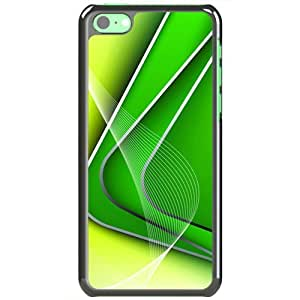 Apple iPhone 5C Cases Customized Gifts Of 3D Graphics Lines And Corners 3d Abstract Black
