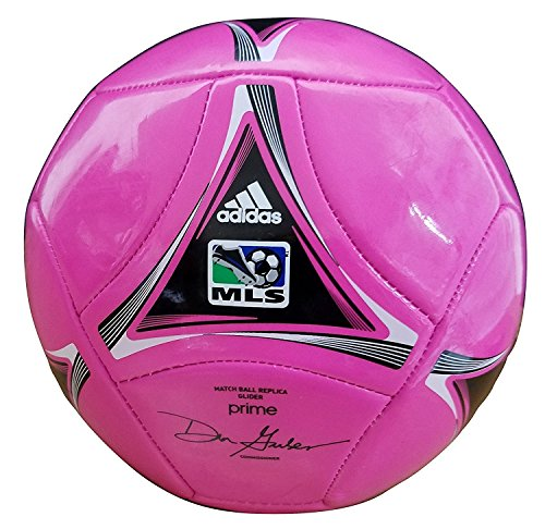 Price comparison product image adidas MLS Glider Soccer Ball - Breast Cancer Awareness - Pink / Black / White - Size 5 (Full Size)