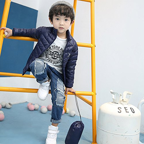 Navy Children Jacket Chic Green Down Lemonkids;® Pure Lightweight Anoraks Coat Winter vAnqCxwqf