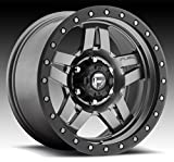 fuel anza wheels - Fuel Anza 17 Gray Wheel / Rim 5x5 with a -6mm Offset and a 78.1 Hub Bore. Partnumber D55817857345
