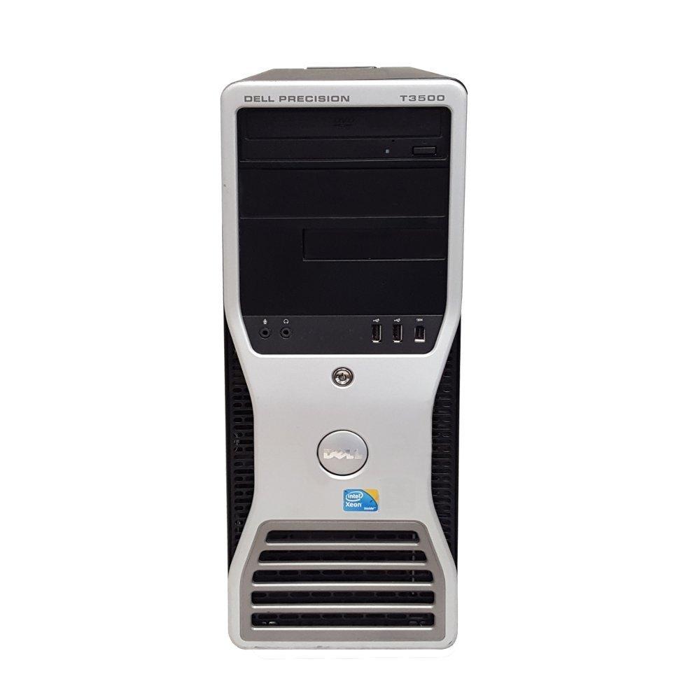 Dell Precision T3500 PC Desktop Intel xeon 2 8GHz W3530, 500GB HDD, 8GB  Ram Windows not installed