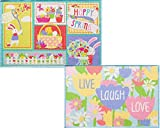 Cheap 2 Pack Live Laugh Love and Spring Printed Accent Rugs 20 inch x 30 inch