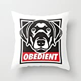 Bestseason 16 X 16 Inches / 40 By 40 Cm Dogs Throw Pillow Covers Twice Sides Ornament And Gift To Gril Friend Festival Car Seat Bf Bar Festival