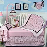 13 Piece French Toile Baby Crib Nursery Bedding Set
