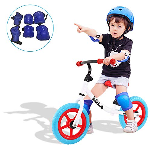 LBLA Kids Balance Bike with Free Protection Kits,Balance Cycle No Pedal for Kids and Toddlers 1-3 Years