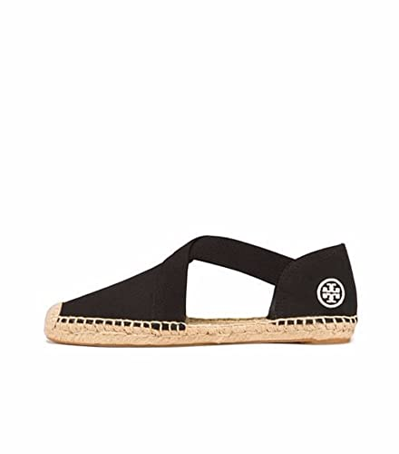 Tory Burch Catalina Espadrille Sandals, Black (8)