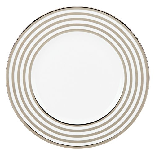 (Lenox Pearl Beads Accent Plate, White)