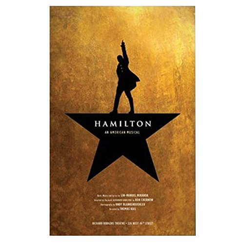 Official Hamilton An American Musical Windowcard Poster