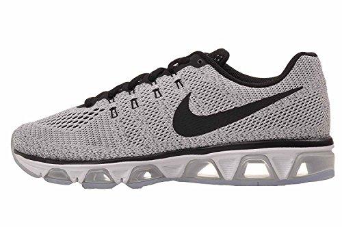 Zapatillas De Running Nike Mujeres Air Max Tailwind 8 (12 B (m) Us, Blanco / Negro)