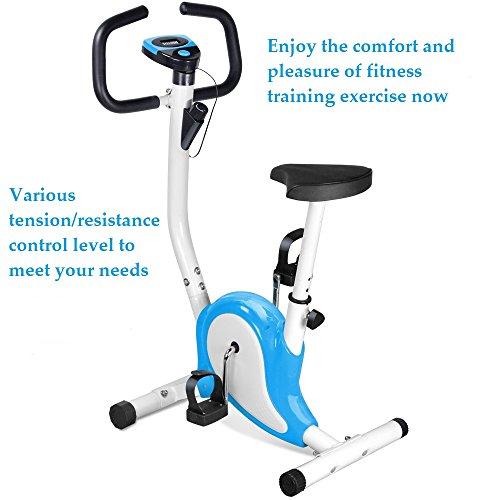 Popamazing Professional 4 Season Home Exercise Bike Fitness Cardio in...