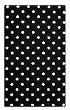 Black Polka Dot Cotton Guest Check Presenter for Restaurant, Check Book Holder, Waitstaff Organizer, Server Book for Waiters, Credit Card Holder, Waiters Pad.