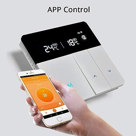 Termostato WiFi Inteligente para Caldera Individual Compatible con ...