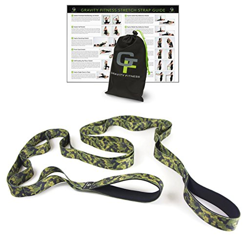 Gravity Fitness Stretching Camouflage Multi loop