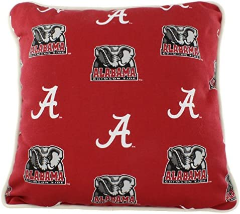 College Covers Alabama Crimson Tide Outdoor Decorative Throw Pillow 16 X 16 Home Kitchen Amazon Com