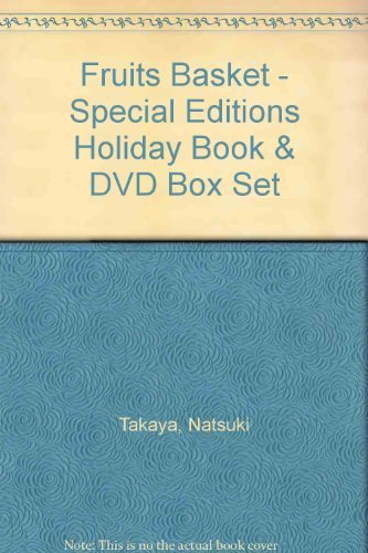 Fruits Basket - Special Editions Holiday Book & DVD Box Set (Fruits Basket Dvd Set)