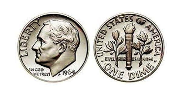 1984 S Proof Roosevelt Dime Ten-Cent Coin 10c