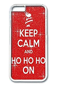 iPhone 6 Case, Keep Calm Custom Hard PC Clear Case Cover Protector for New iPhone 6 4.7inch