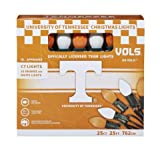 Let's Light It Up Officially Licensed College Christmas Lights (University of Tennessee)