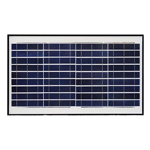 ALEKO SP30W12VP 30 Watt 12 Volt Polycrystalline Solar Panel for Gate Opener Pool Garden Driveway by ALEKO