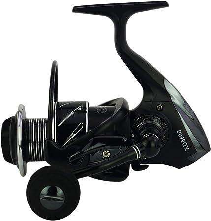 JAYLONG Carretes de Pesca de Peso Ligero Agua Salada Spinning ...