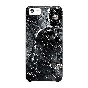 LJF phone case Iphone Case - Tpu Case Protective For iphone 6 4.7 inch- Batman In The Dark Knight Rises