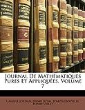 Journal de Mathématiques Pures et Appliquées, Camille Jordan and Henri Résal, 1148929207