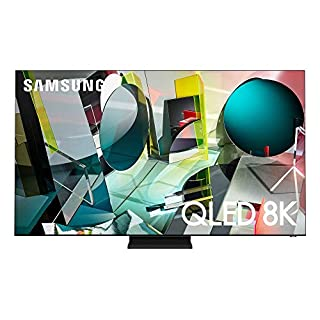 SAMSUNG 85-inch Class QLED Q900T Series - Real 8K Resolution Direct Full Array 32X Quantum HDR 32X Smart TV with Alexa Built-in (QN85Q900TSFXZA, 2020 Model)