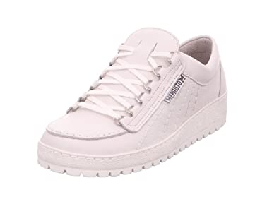 df7030f131 Amazon.com | Mephisto Rainbow White Leather lace-up Shoes for Men ...