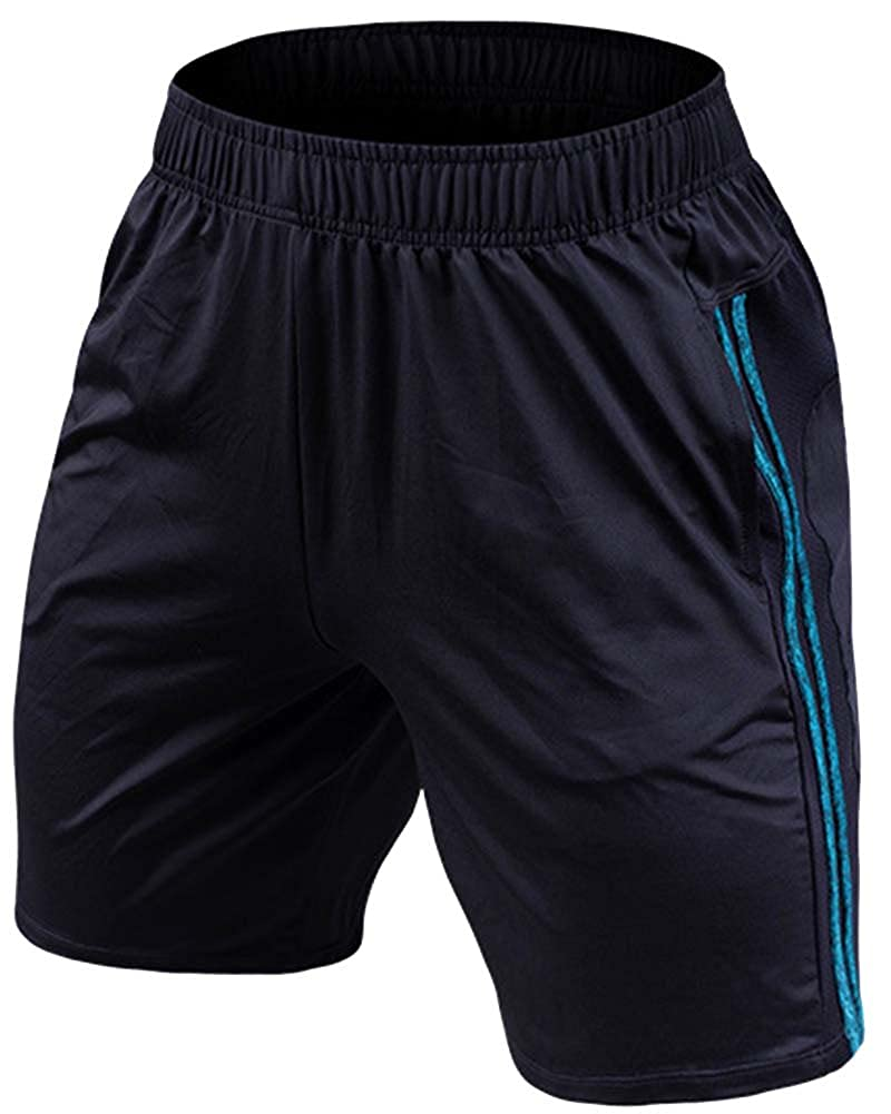 Homme Short de Sport Bermuda Pantacourt Running Jogging Musculation Gym