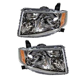 HO2519131 Fits 2009-2010 Honda Element SC Passenger Side Headlight Lens//Housing