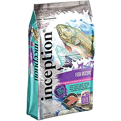 Inception Dry Cat Food Fish Recipe