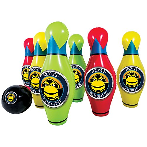 Franklin Sports Kong-Air Giant Inflatable Bowling Set - Over 2.5 Feet Tall!
