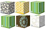 Puffs Plus Lotion Facial Tissues, Cube, 6 Boxes (56 Count Each)