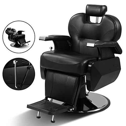US Stock All Purpose Hydraulic Recline Barber Chair Salon Beauty Spa Shampoo Hair Styling