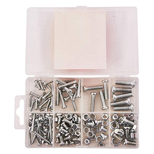 CONNEX DP8500055 Machine Screw and Nut Kit 275 Pieces
