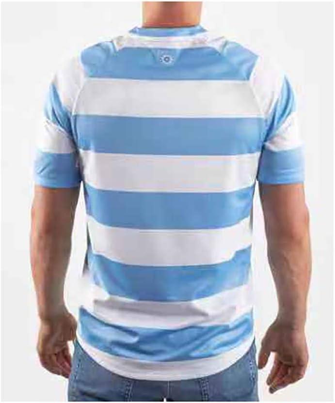 Pavilion 2019 Coupe du Monde Rugby Argentine Maison Et /À Lext/érieur Football V/êtements Jersey T-Shirts S-3XL Size : S