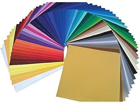 "21 Assorted Colors Sample Pack Oracal 641 Vinyl Bundle 12/"" x 12/"""