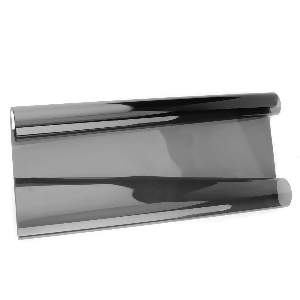 Rollo de l/ámina de Tinte para Ventana de Cristal con rascador VLT Color Negro Ahomi Car Home