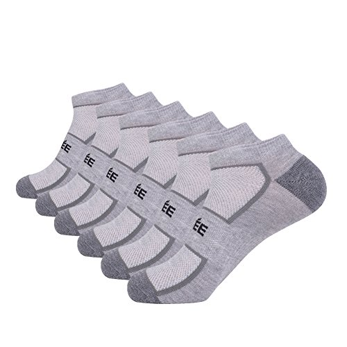 - Low Cut No Show Athletic Socks Men's Ankle Performance Socks with Mesh Cushion Breathable